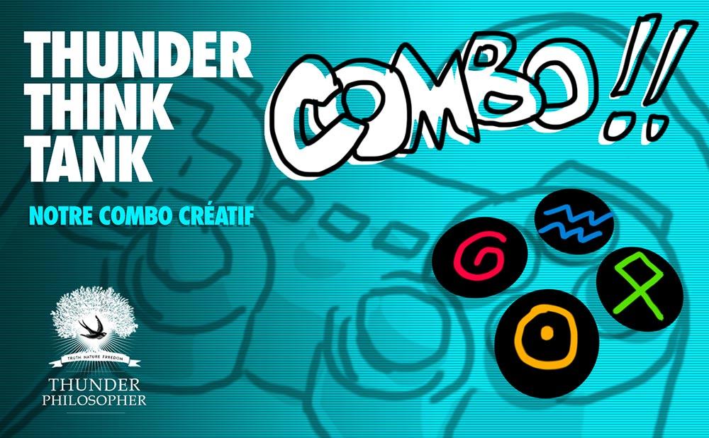 Thunder Thunk Tank - Notre COMBO créatif