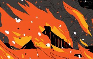 Revenge of Silence - incendie