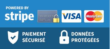 Stripe paiement CB sécurisé