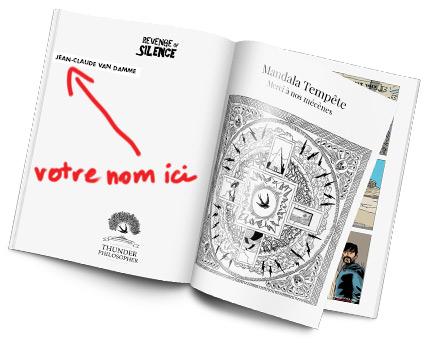 Votre nom dans la rubrique Mandala Tempête